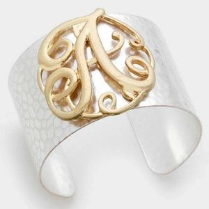 Jewelry - Sale Monogram A bracelet